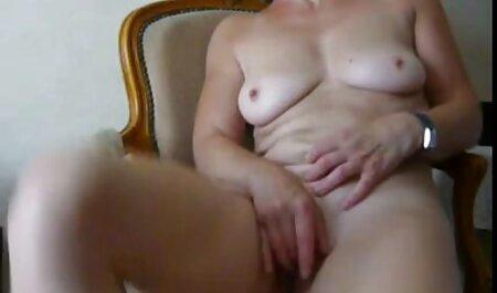 Dreier endet pornos mit alten damen mit Creampie im Arsch